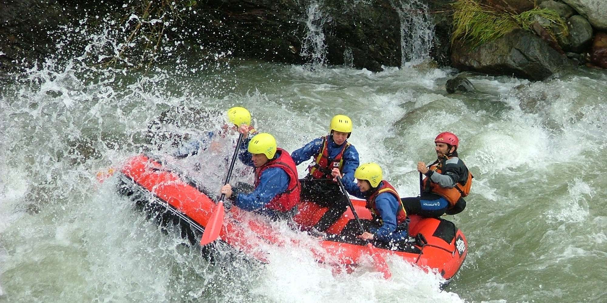 Rafting, Laces - Val Vensota